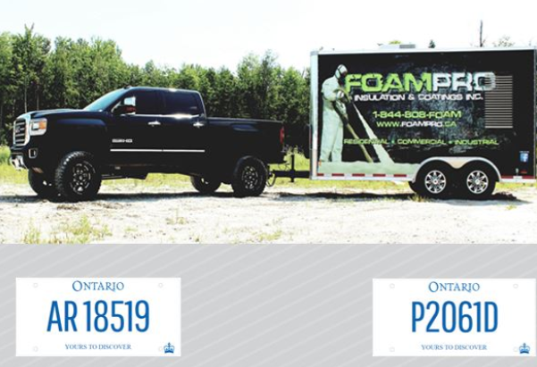 foam pro trailer and truck stole