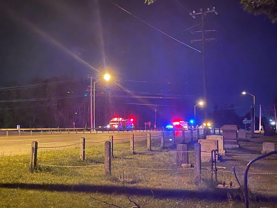 highway 11 pedestrian fatality sam