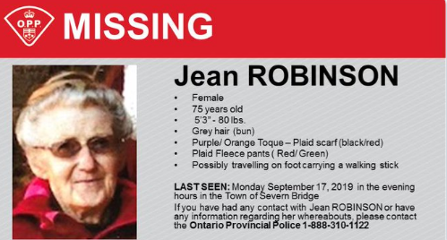 jean robinson missing