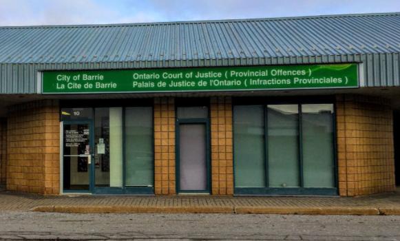 Provincial offences court orillia, stock