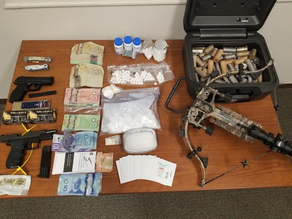 2020-04-30 Bracebridge drug weapons seizure