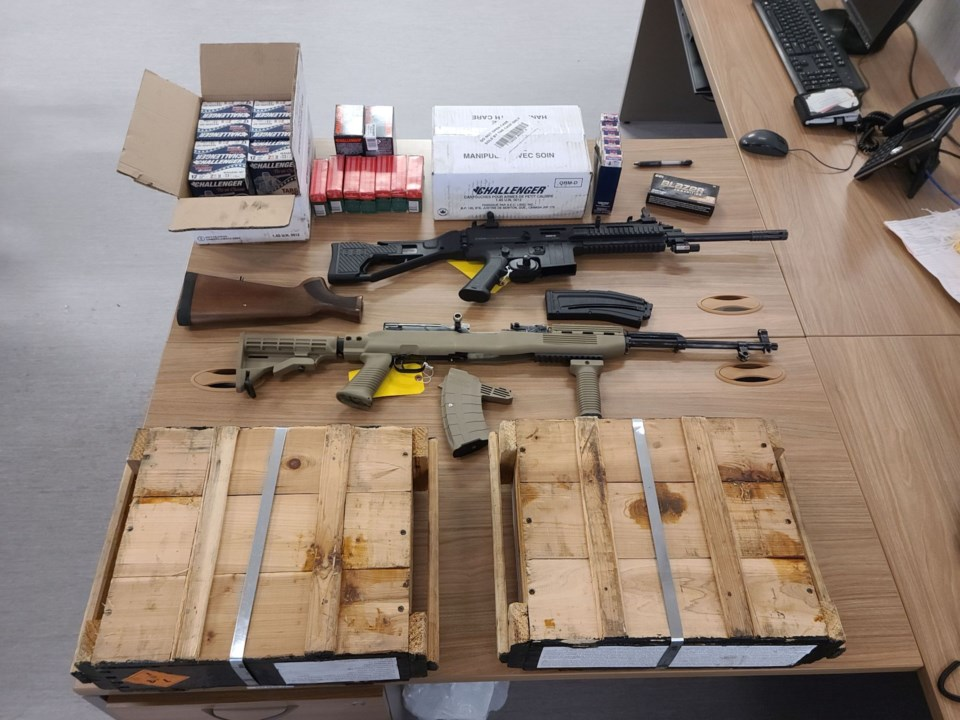2021-02-18 - Orillia OPP Abandoned firearms and ammo resized