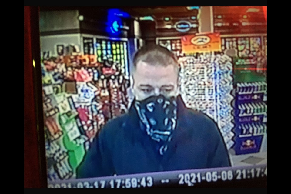 Police released images of three suspects sought in a theft of cigarettes in Oro Medonte.