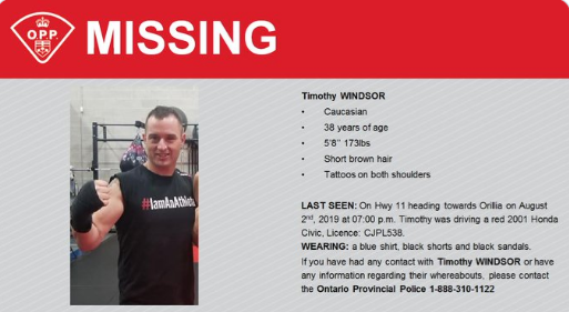 timothy windsor missing