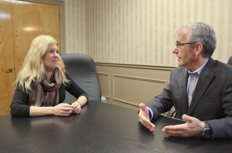 2018-11-30 Michelle Rempel and Bruce Stanton