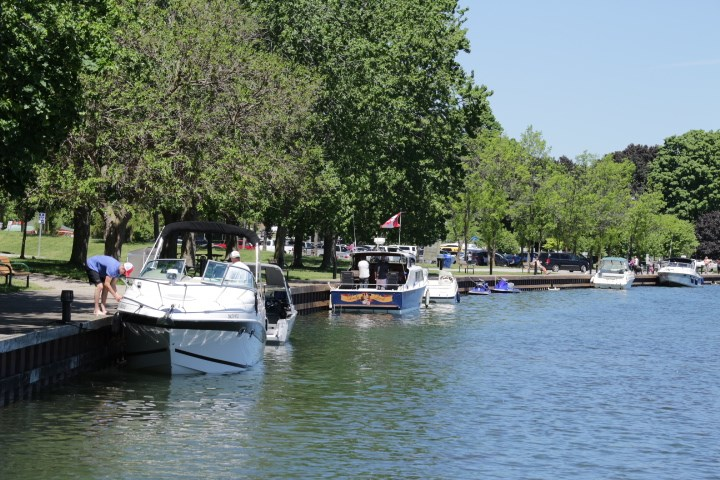 The Port of Orillia will be closed until at least May 31. OrilliaMatters File Photo