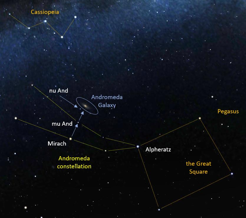 finding Andromeda