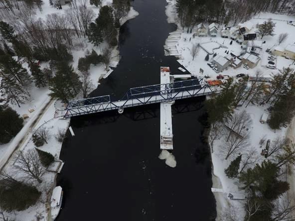 hamlet bridge open again