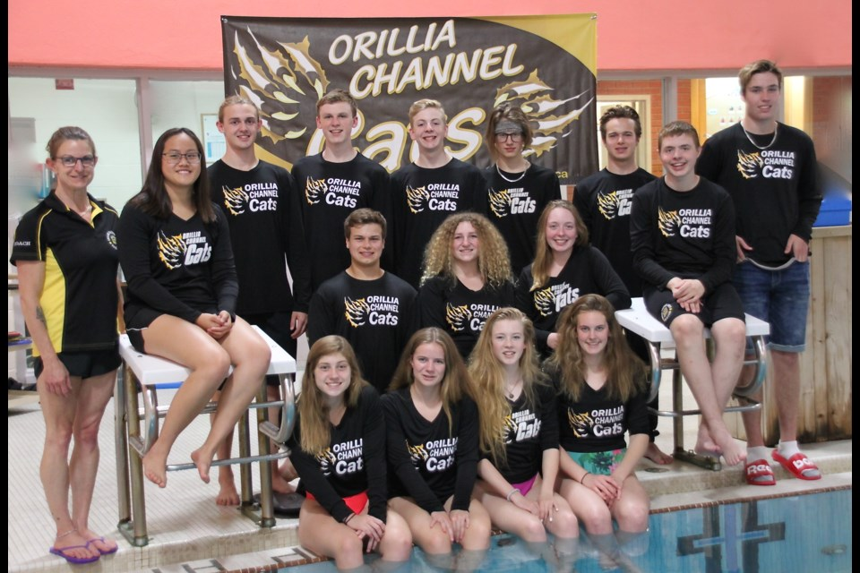 The Orillia Channel Cats Golden team of 2017-2018.