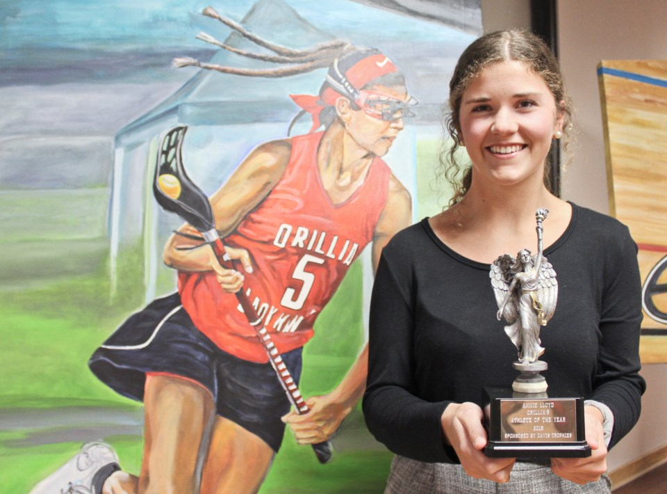 2019-03-04 Annie Lloyd Athlete of the Year
