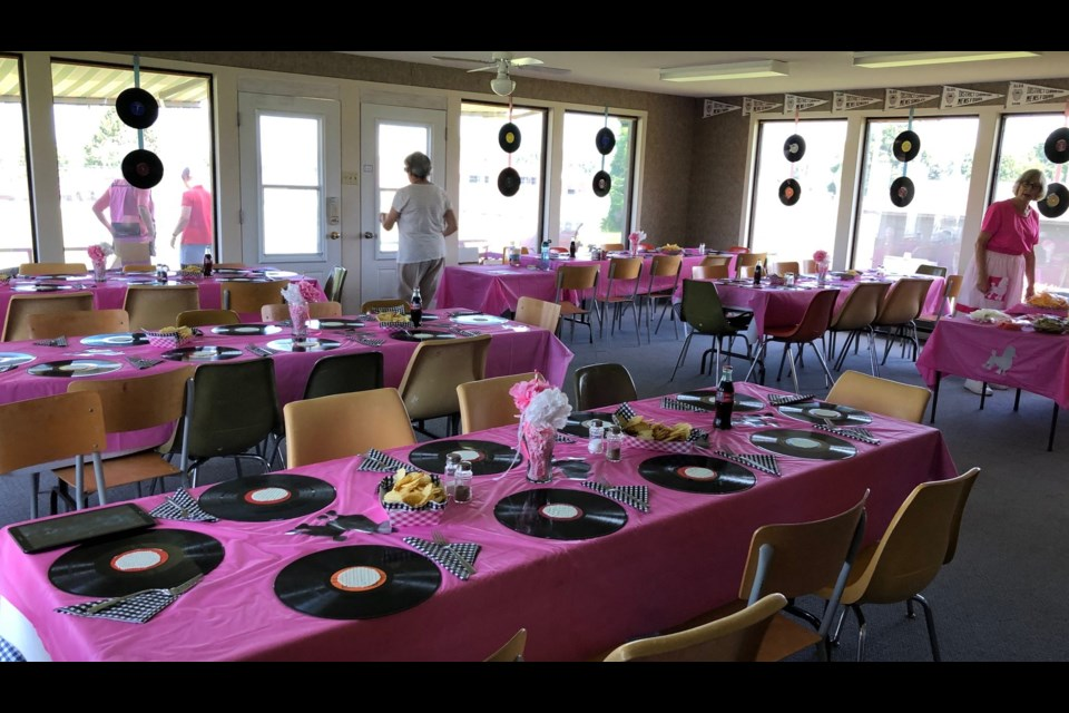 The Orillia Lawn Bowling Club hosted a 50s-themed fundraiser for Mariposa House Hospice at its Commerce Road clubhouse.
