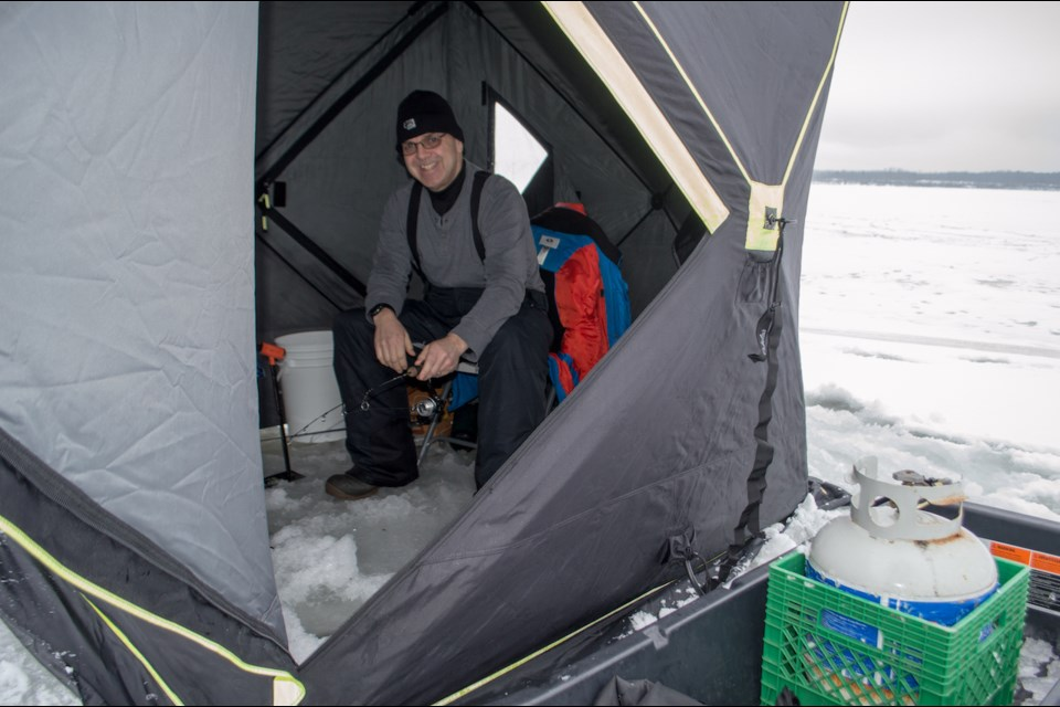 Avid local fisherman David Brain has been testing his luck on Lake St. John this season, a spot that has become more popular during the pandemic.