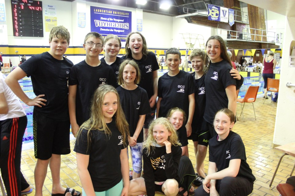Channel Cat swimmers made quite an impression at a recent competition in Sudbury. Submitted photo