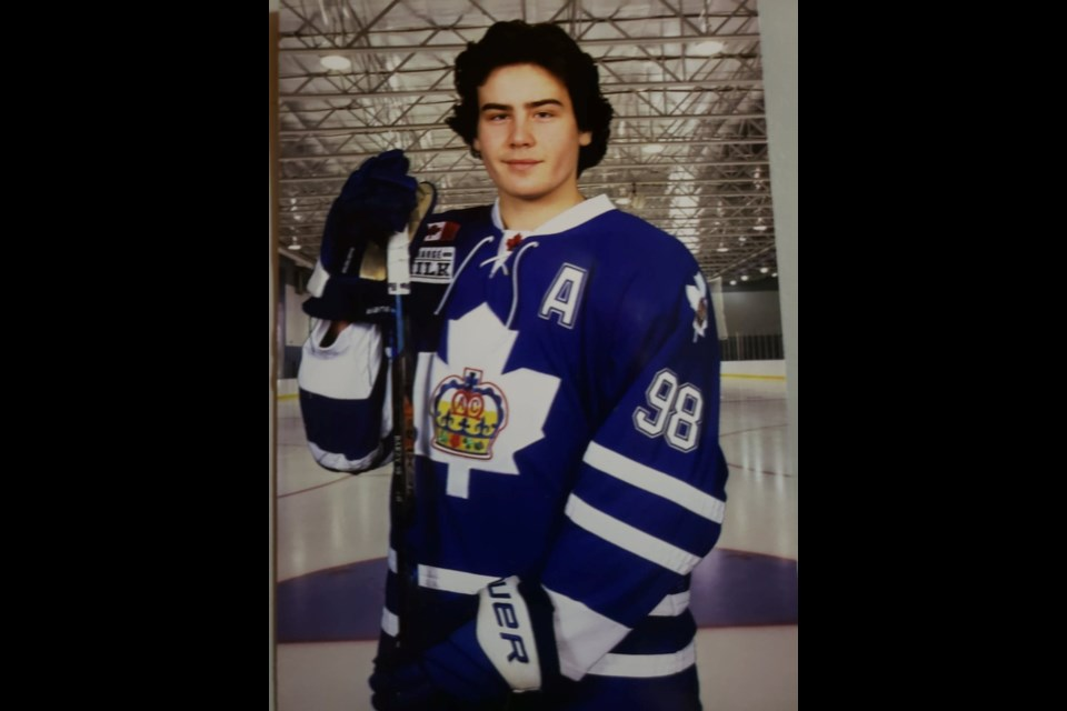 Colby Barlow is an assistant captain for the Toronto Marlies, one of the province's top elite hockey teams. He hopes to be a first-round pick in the OHL draft next month.