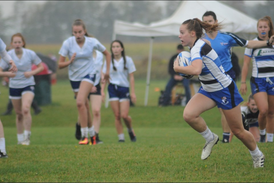 Local rugby star Eden Kilgour keeps getting noticed for her elusive speed and is a top prospect to eventually play for Team Canada in the Summer Olympic Games.