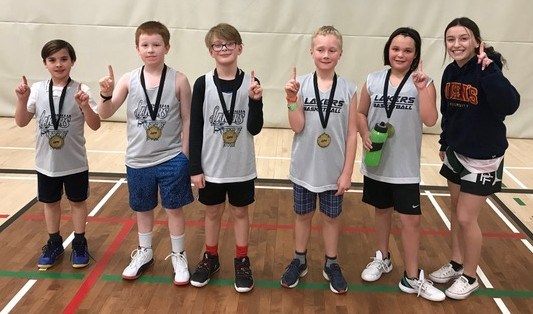 The Fierce Potatoes won a gold medal when the Orillia Lakers wrapped up their novice house league season recently. Contributed photo
