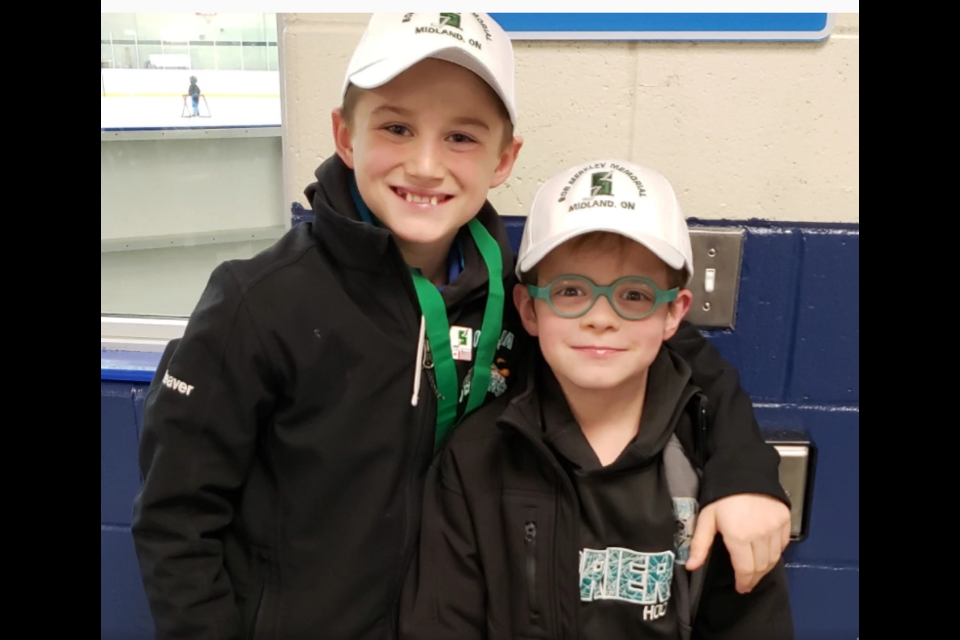 The Orillia major atom Terriers were recognized for their good deeds through the Ford Skills and Drills contest and have won a trip to a future Leafs game and an opportunity to do skills and drills at Scotiabank Arena.