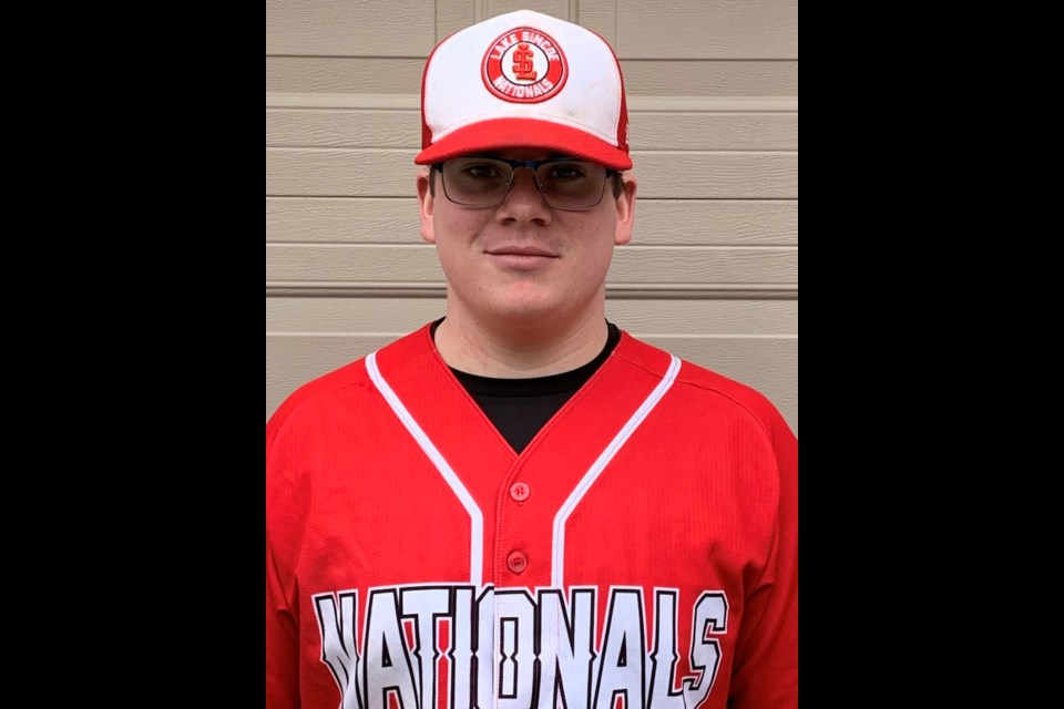 Former Orillia Royals pitcher Max Rutherford continues to flirt with his dream of playing NCAA baseball. In July, Rutherford will be representing Canada in the Northeast National Showcase in New Jersey.Contributed photo