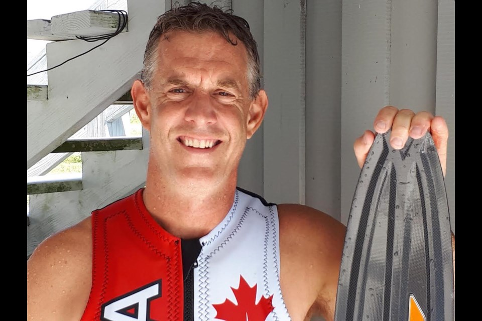 Bob Wink's passion for water sports began in his own backyard on Victoria Point in Orillia. Wink has represented Canada on the global stage multiple times in rowing and water skiing. Contributed photo