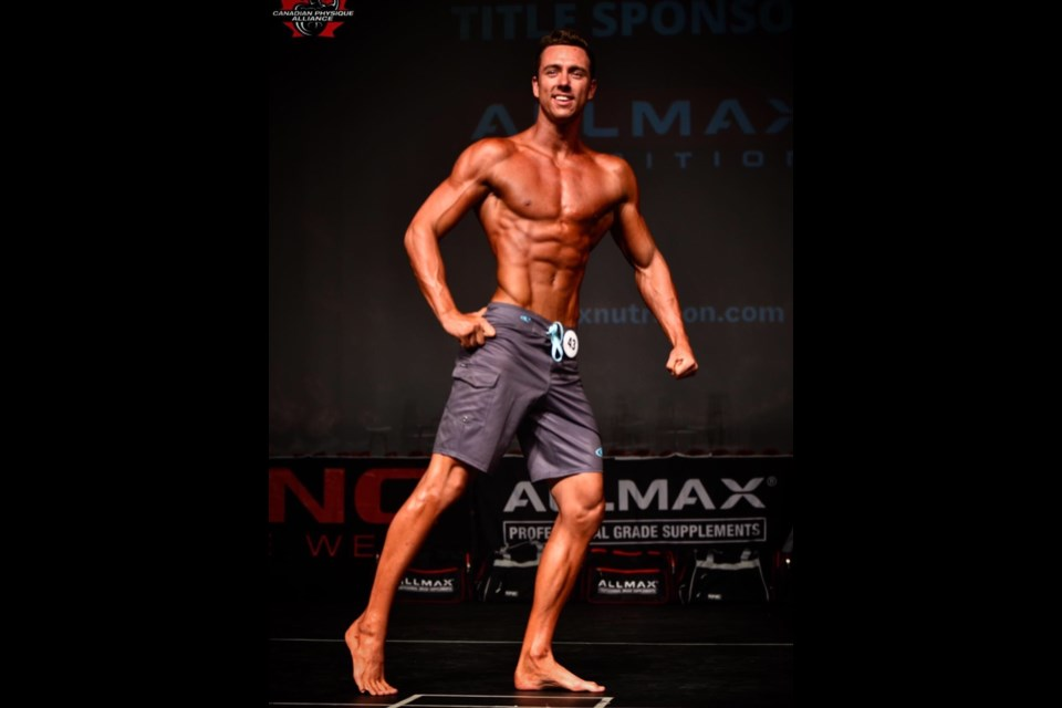 Orillia bodybuilder Cameron Lenssen would love to live out his dream of competing on the world's biggest stage at either the Arnold Classic or Mr. Olympia. Contributed photo