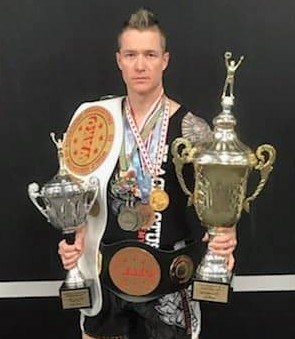 Orillia's Nic Langman is a much-decorated mixed martial arts athlete who has won championships all across the globe. However, he says his biggest success is the Black Lotus Kickboxing Academy on Kitchener Street.Contributed photo