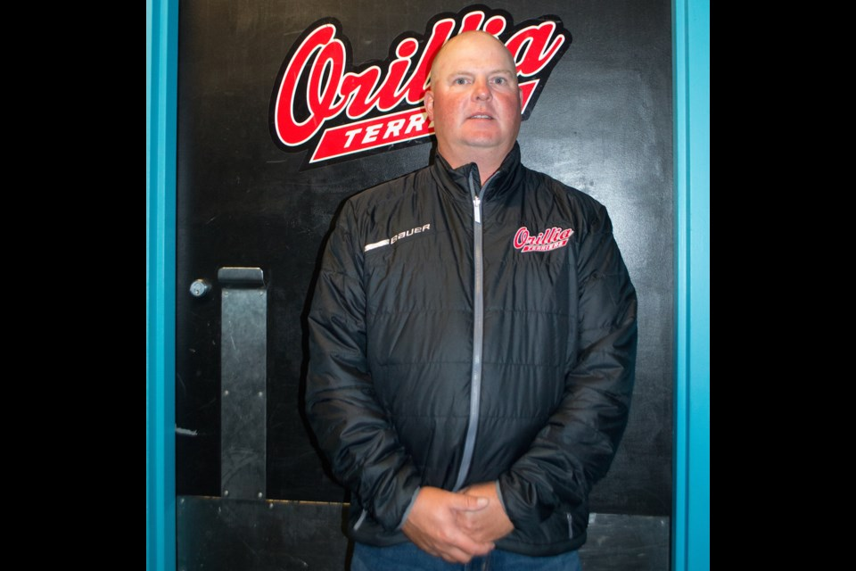 Orillia Terriers head coach Dallyn Telford recognizes junior hockey's importance in the community, and says a championship would be sweeter to win in Orillia than anywhere else. Tyler Evans/OrilliaMatters