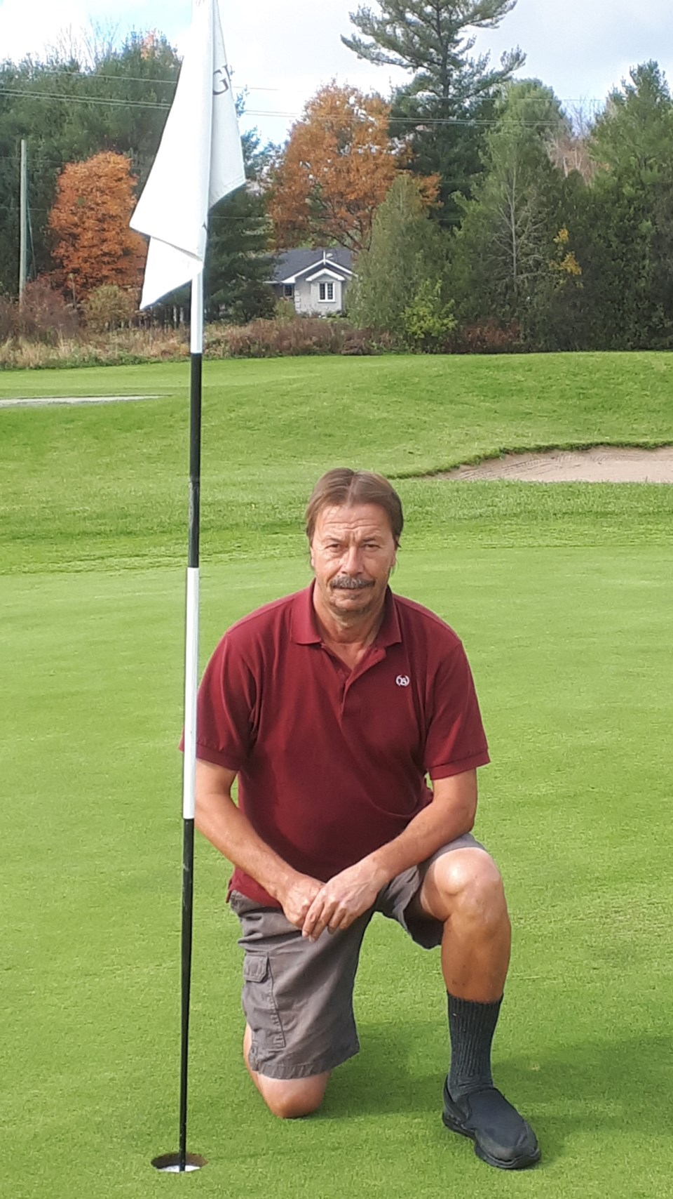 terry sumpton hole in one at hawk ridge