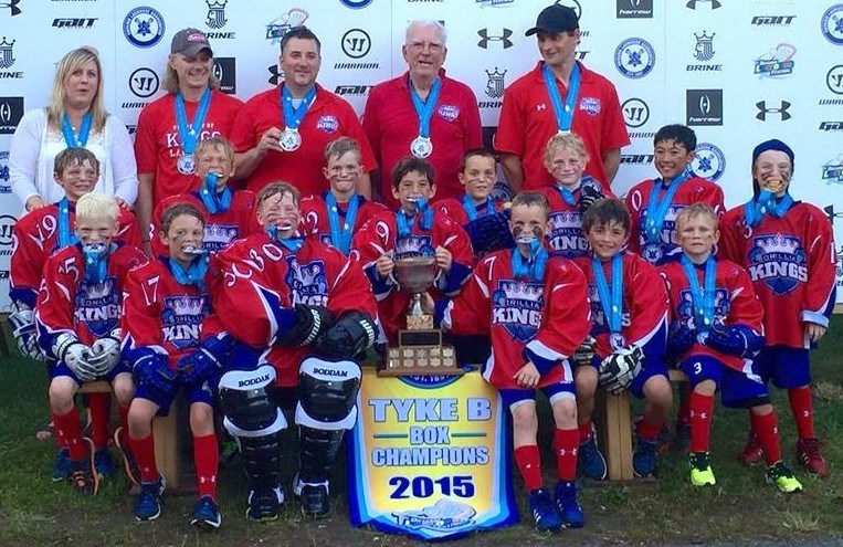 One of Garry Balkwill's joys was to watch his kids and grandkids play lacrosse. In recent years, he coached his grandkids with his son, Scott. In 2015, that tyke team won a championship together.
