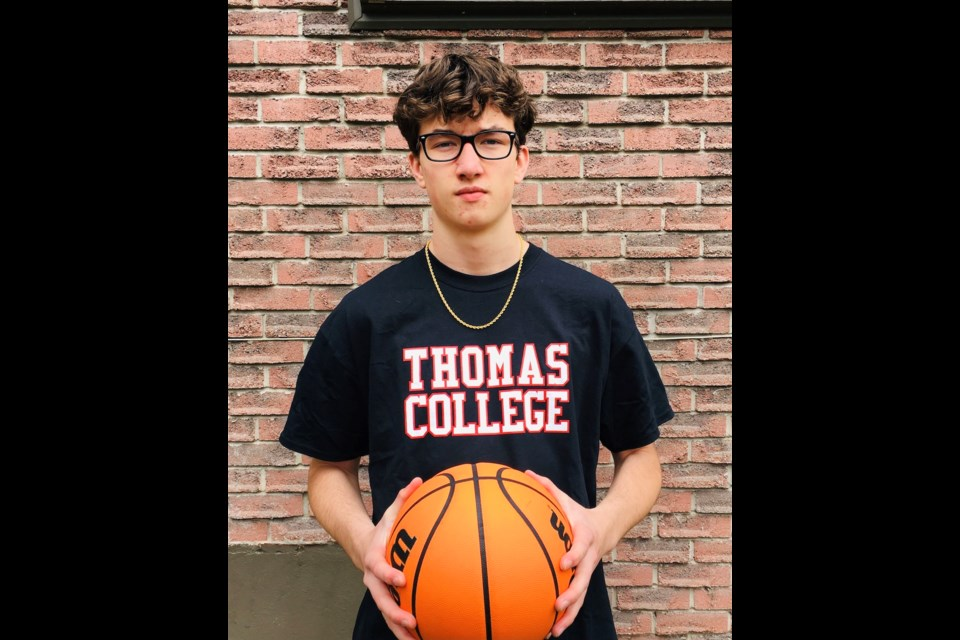 Twin Lakes Secondary School basketball star Wyatt Thompson has committed to playing D3 sports at Thomas College.