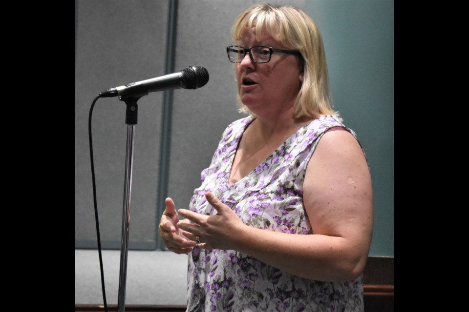 Sheona Kloostra, owner of Happy at Home, says the city could end up in court if it pursues regulation of the auxiliary service transportation sector. Dave Dawson/OrilliaMatters