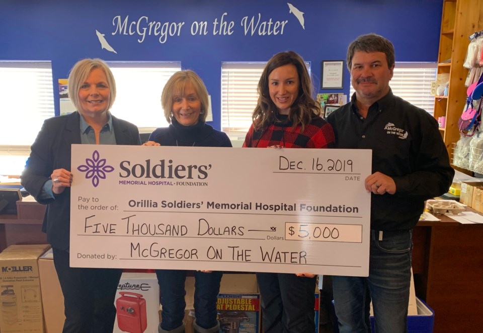 McGregor on the Water Cheque Presentation 2019 (1)