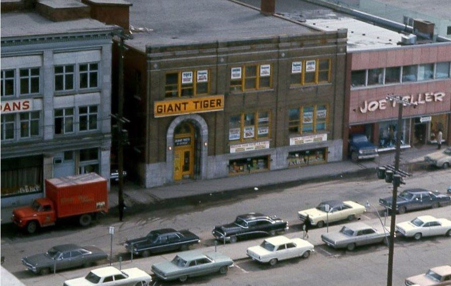 First Giant TIger location in the ByWard Market