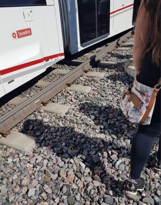 lrt train derailment close