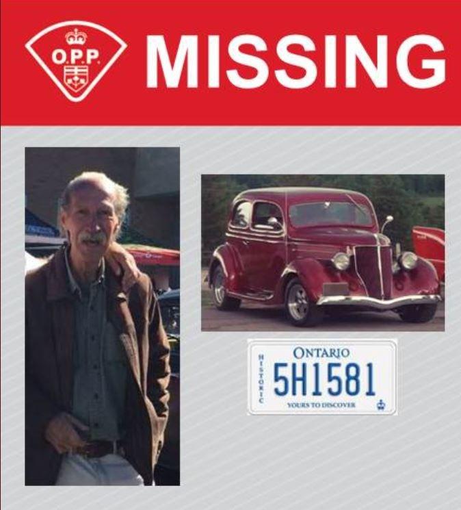 missing man vintage car