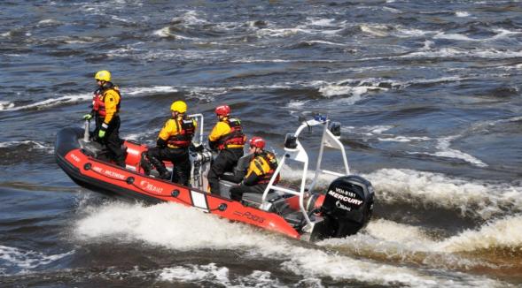 ottawa water rescue boat