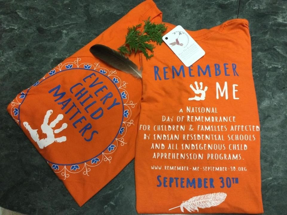2021-08-31 remember me orange t-shirt