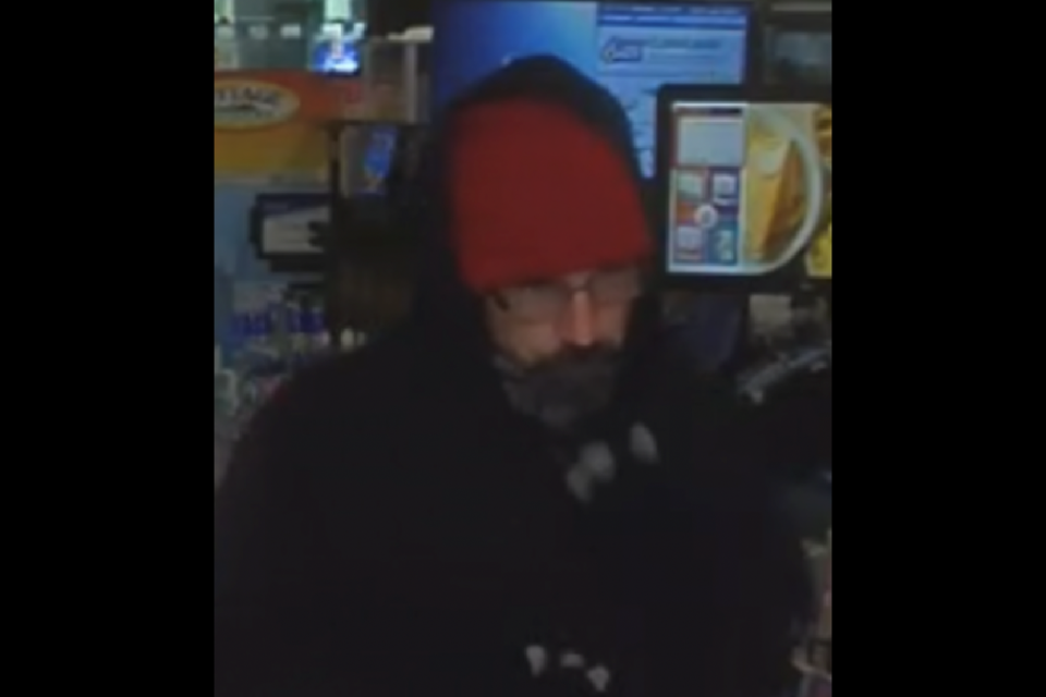 Ottawa police looking to identify a man who was involved in two robberies. (Photo/Ottawa Police Service)