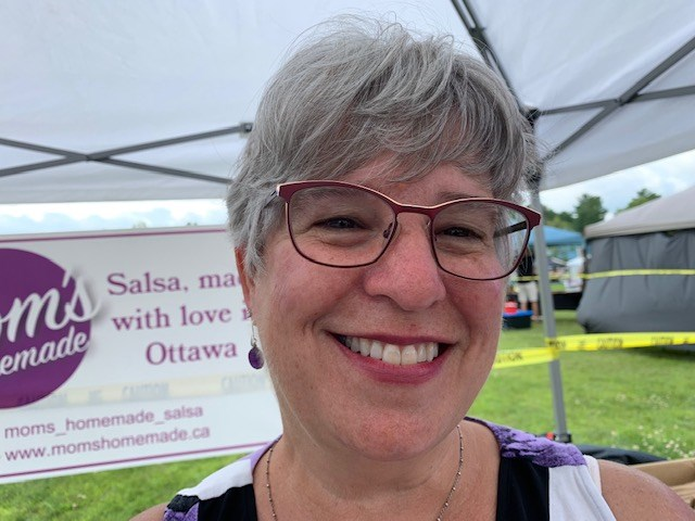 Cheryl Wilcox, owner of Mom's Homemade Salsa. (Photo/Denis Armstrong)
