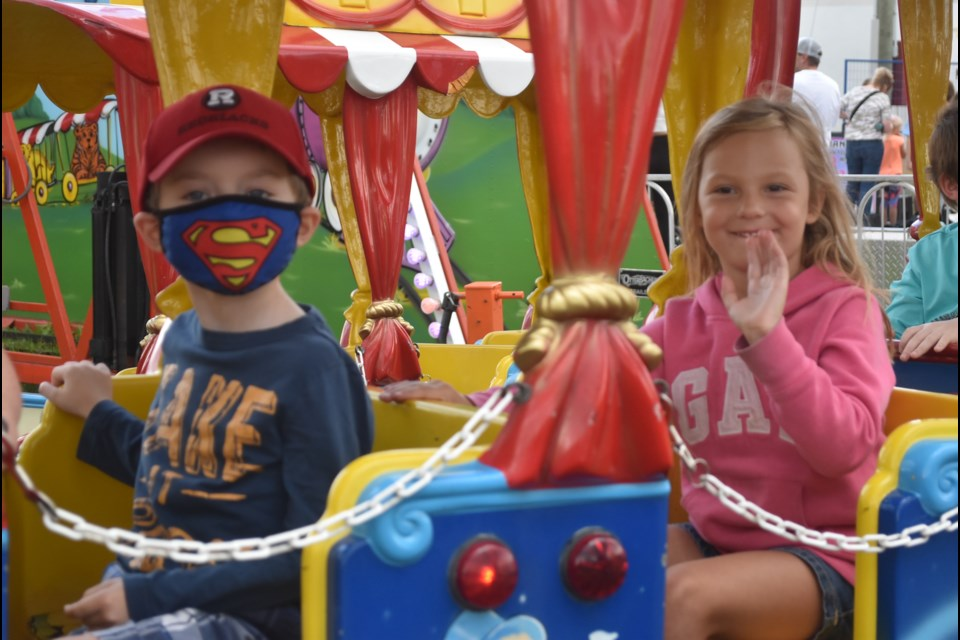 Just some of the sights and sounds from the four-day Renfrew Fair held over the weekend