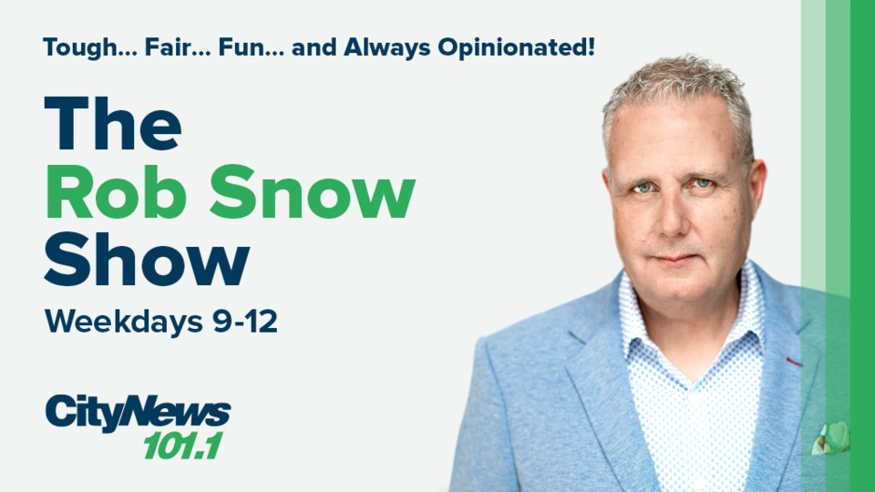 Podcast Graphic for Rob Snow Show - 1024 x 576