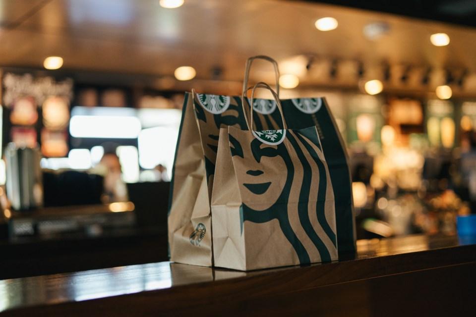 2020-10-01 Starbucks takeout