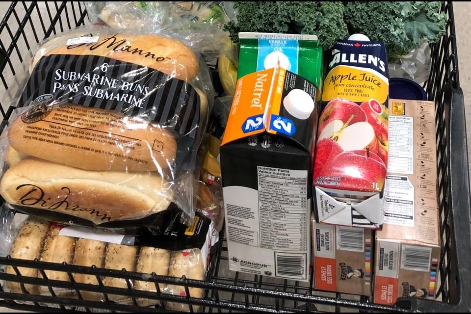 Groceries. Photo/ Bag Half Full