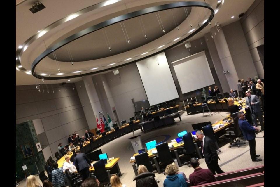 Ottawa City Council meeting. (Photo/ Mike Vlasveld)