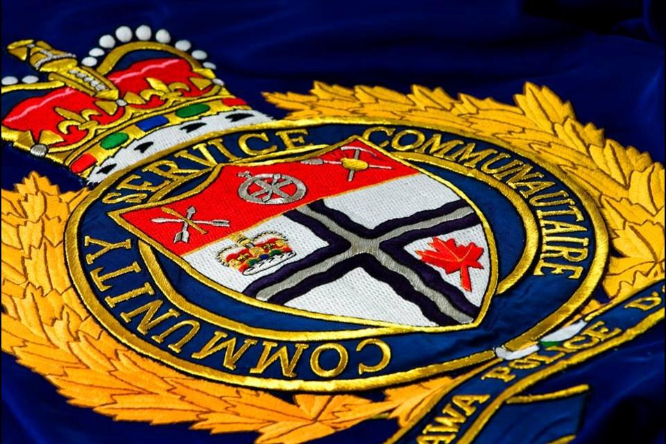 The Ottawa Police Service badge. (Photo/ Ottawa Police Service Twitter)
