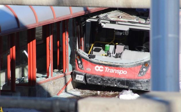2019-01-12 Westboro Station bus crash MV2