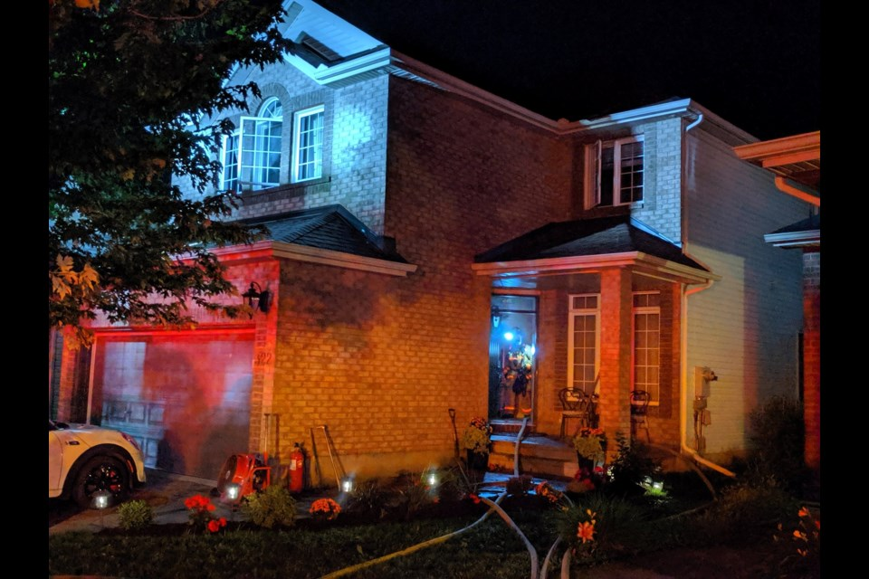Fire on Shellbrook Way July 12, 2019 (Ottawa Fire Scott Stilborn)