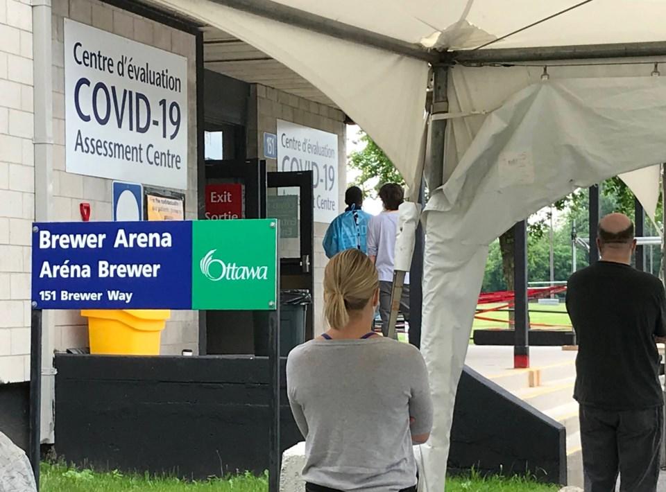 2020-06-10 Brewer Arena COVID-19 assessment centre MV3