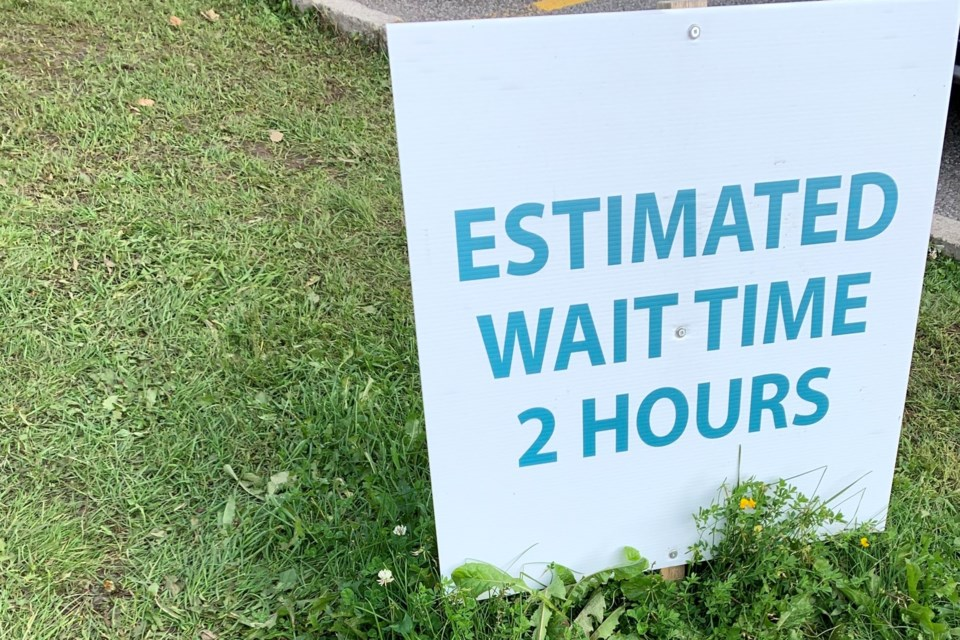 2020-09-16 brewer covid-19 wait line