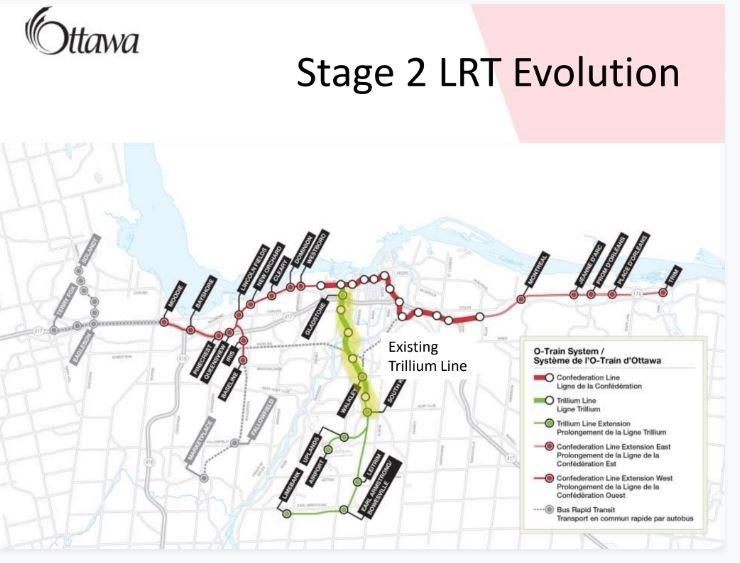 LRT Phase 2 map