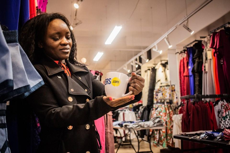 Princess Tunkara, owner of Tunka's Fashion. Kieran Delamont/OttawaMatters.com